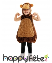 Costume de petit singe en peluche