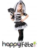 Costume de petite mariée vaudou