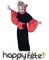 Costume de petite sorcière araignée noir orange, image 3