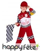 Costume de pilote de formule 1 pour enfant