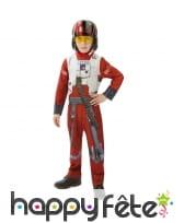 Costume de pilote pour enfant, star wars 7