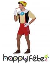 Costume de Pinocchio pour homme