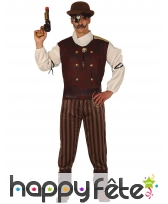 Costume de pirate steampunk pour homme