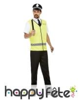 Costume de policier en vareuse pour homme, image 1