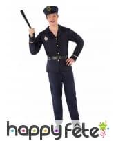 Costume de policier pour ado