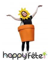 Costume de pot de fleur pour adulte, image 1