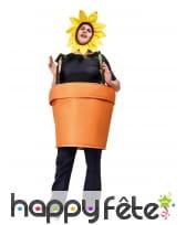 Costume de pot de fleur pour adulte