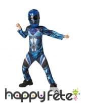 Costume de Power Ranger bleu pour enfant