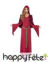 Costume de prêtresse rouge