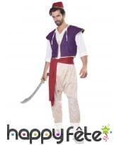 Costume de prince oriental pour homme
