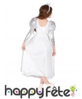 Costume de princesse blanche et argent pour enfant, image 3