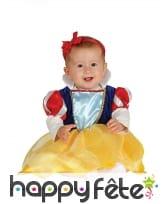 Costume de princesse Blanche pour bébé