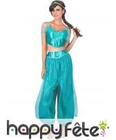 Costume de princesse d'Arabie pour femme