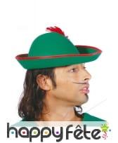 Chapeau de Robin pour adulte