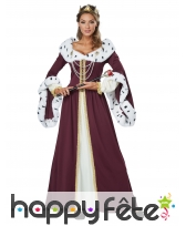 Costume de reine enchantée pour femme
