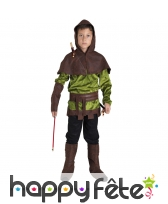 Costume de robin des bois pour petit garçon