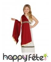 Costume de romaine pour fille