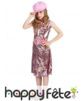 Costume disco reptile multicolore pour fillette, image 2