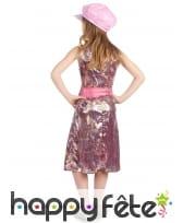 Costume disco reptile multicolore pour fillette, image 3