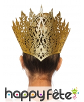 Couronne de reine orientale dorée pour adulte, image 1