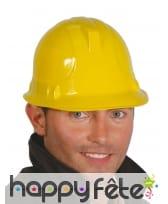Casque de sécurité d'homme du bâtiment adulte