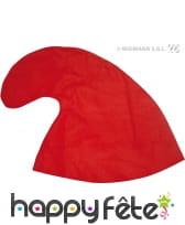 Chapeau de schtroumpf rouge