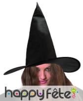 Chapeau de sorciere noir
