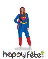 Combinaison de Supergirl pour adulte