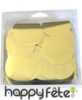 Confettis de scene dorés
