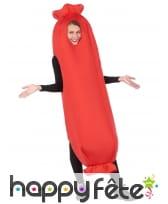Costume de saucisse pour adulte, image 4