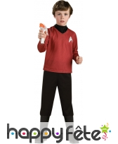Costume de Scotty pour enfant, luxe, Star Trek