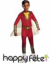 Costume de Shazam avec cape pour enfant