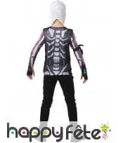Costume de Skull Trooper pour ado, en coffret, image 1