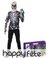Costume de Skull Trooper pour ado, en coffret