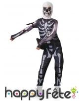 Costume de Skull Trooper pour ado, Fortnite