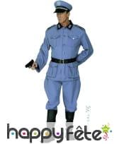 Costume de soldat allemand gris pour adulte