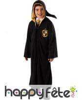Costume de sorcier Poufsouffle deluxe pour enfant
