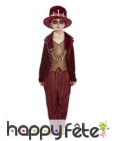 Costume de sorcier vaudou pour garçon, rouge, image 1