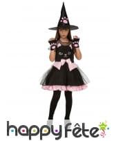 Costume de sorcière chat pour enfant