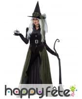 Costume de sorcière des bois pour femme