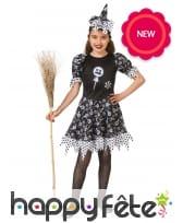 Costume de sorcière imprimés bonbons pour enfant, image 2