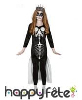 Costume de squelette sirène pour enfant