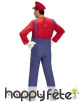 Costume de Super Mario pour homme, image 2