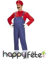 Costume de Super Mario pour homme