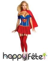 Costume de Supergirl pour femme adulte