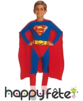 Costume de Superman enfant Licence