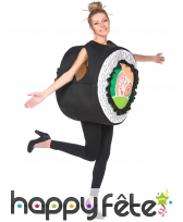 Costume de sushi maki pour adulte, image 1