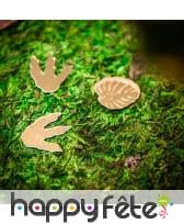 Chemin de table en mousse végétale, 2m x 30cm, image 1