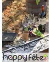 Chemin de table sur le thème du vin, 3m, image 2
