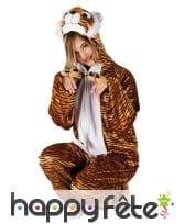 Combinaison de tigre pour adulte, image 1